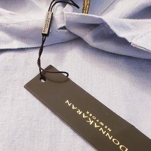 DONNA KARAN Shirt Long sleeve Denim Oversized Top